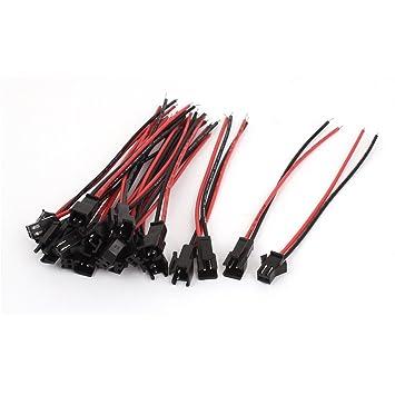 10 Sets RC Model EL Kabel Draht 2 Pin Stecker Buchse: Amazon.de ...