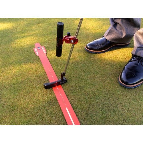 EyeLine Golf Groove Putting Laser, Red -