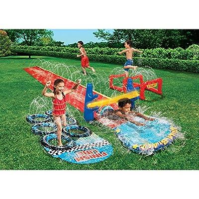 Banzai Aqua Blast Obstacle Course by Banzi: Toys & Games