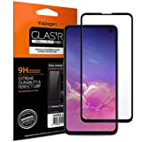 Spigen Samsung Galaxy S10E GLAStR Slim HD FULL COVER Tempered Glass Screen Protector - Case Friendly