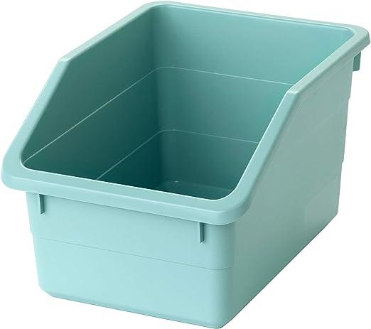 IKEA ASIA SOCKERBIT Caja de almacenaje Azul claro: Amazon.es: Hogar