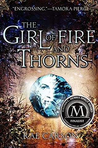 book cover of   The Girl of Fire and Thorns