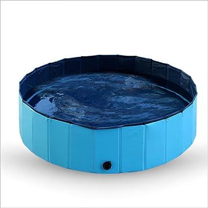 Amazon.com : Zero Foldable Dog Cat Water Pool Pet Swimming Pool ...