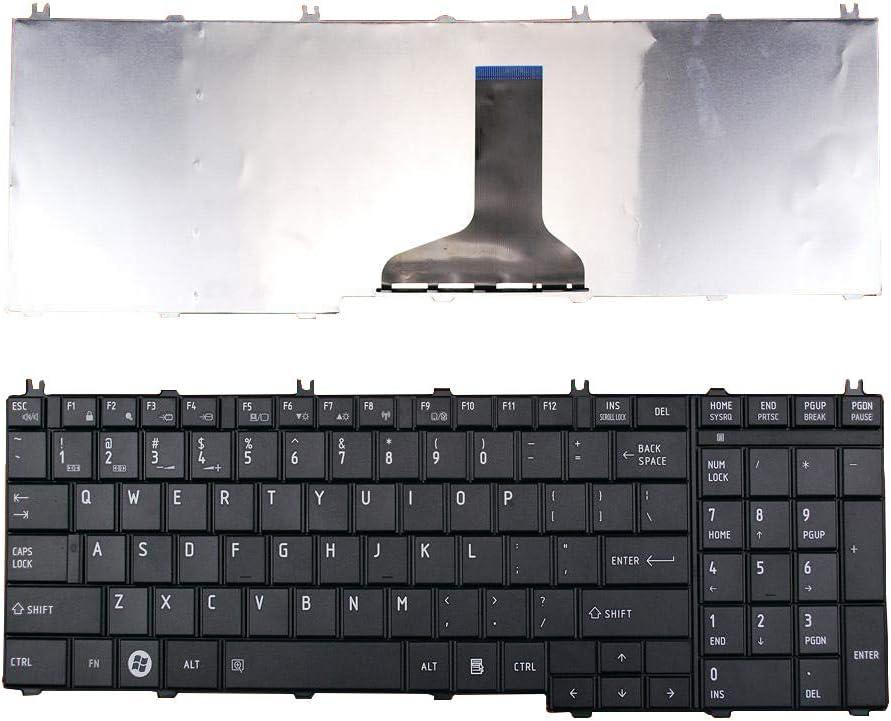 US English Laptop Keyboard for Toshiba Satellite C650 C650D C655 C655D C660 C660D C665 C665D L550 L550D L650 L650D L655 L655D L670 L670D L675 L675D L770 L750D L755 B350 Series Replacement Keypad