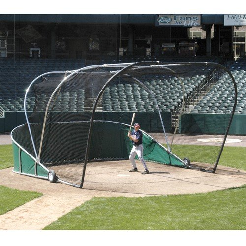 Big Bubba Pro Portable Baseball Batting Cage (Portable Baseball Batting Cage)