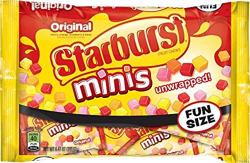 Starburst Minis Fun Size Original Candy Bag, 8.47 Ounce - 2 Pack