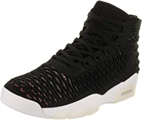 ea3415ba Jordan Men's Flyknit Elevation 23 Basketball Shoes, Black/Black/University  Red-White
