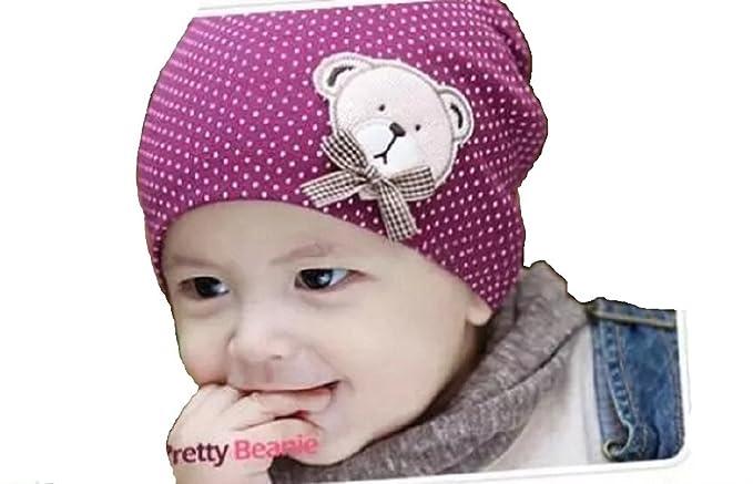 US Cute Toddler Kids Baby Boy Girl Infant Cotton Soft Winter Warm Beanie Hat Cap