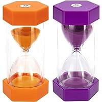 3 Minuten Sanduhr Sanduhren Küche Timer Eieruhr-Uhr Kurzzeitmesser Holz Glas Neu