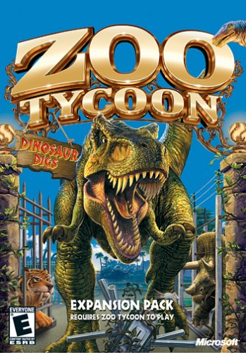 Zoo Tycoon Expansion Pack Dinosaur Digs