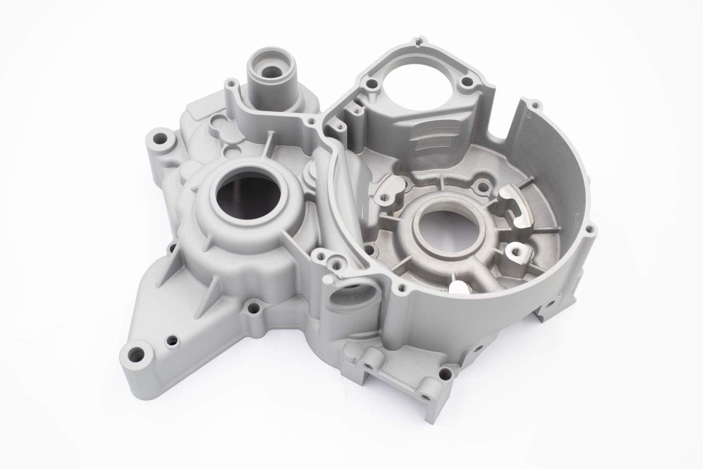 Par de cárter motor derecho e izquierdo para moto Minarelli 50 AM6: Amazon.es: Coche y moto