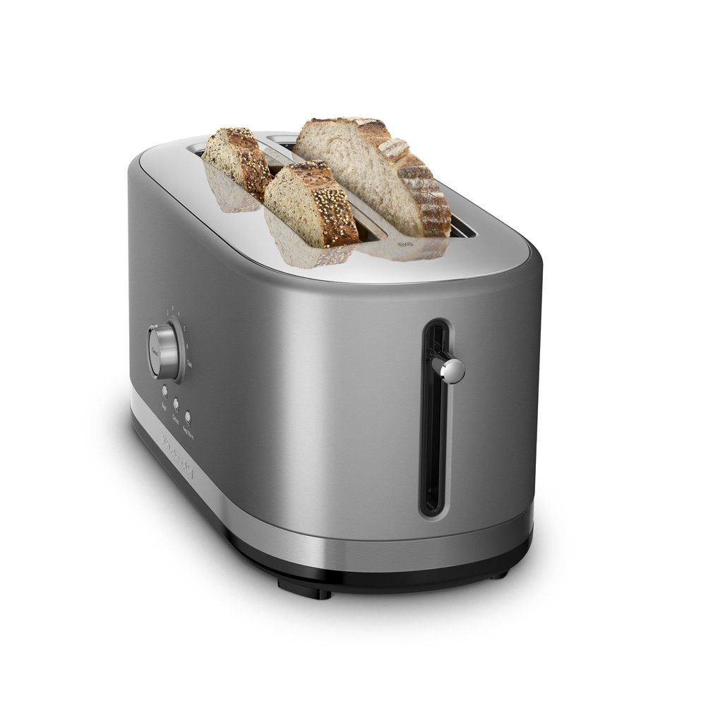 KitchenAid KMT4116ER 4-Slice Long Slot Toaster with High Lift Lever Empire Red