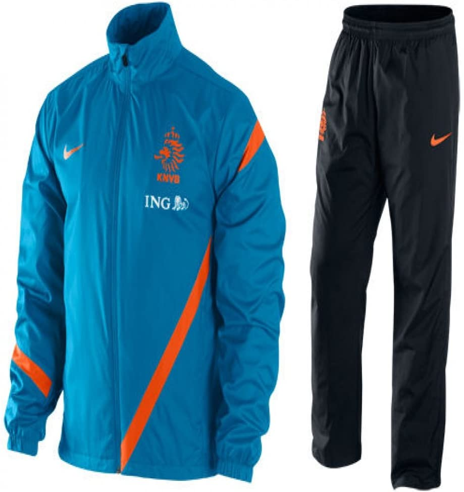 Nike Holland Sideline cálida de Up Hombre, azul - naranja: Amazon ...