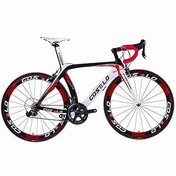 Costelo Lucca - Bicicleta de carretera de carbono, grupo completo ...