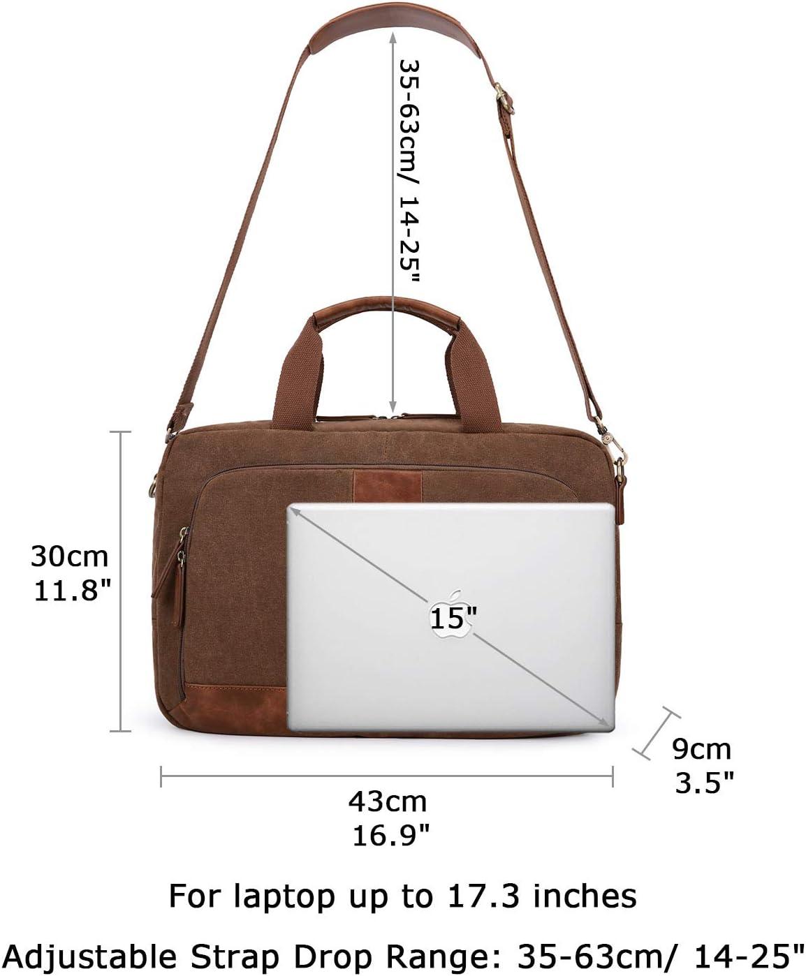 17,3 Zoll 43,9cm Profi Business Notebook Schultertasche Laptop Schutz Tasche