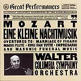 Mozart: Eine kleine Nachtmusik + Overtures K 486 588 492 620 477 (CBS Great Performances)