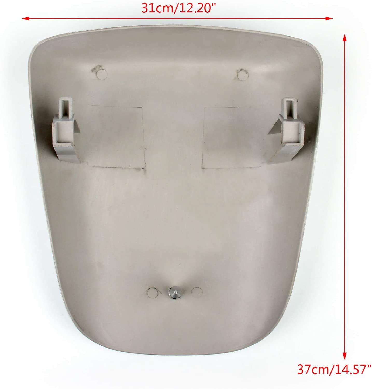 Motorcycle Seat Cowl Fairing Tail Cover for K-A-W-A-S-A-K-I ZX6R ZX 6R 2000-2002 Artudatech Motorbike Rear Seat Cover Cowl Passenger Pillion