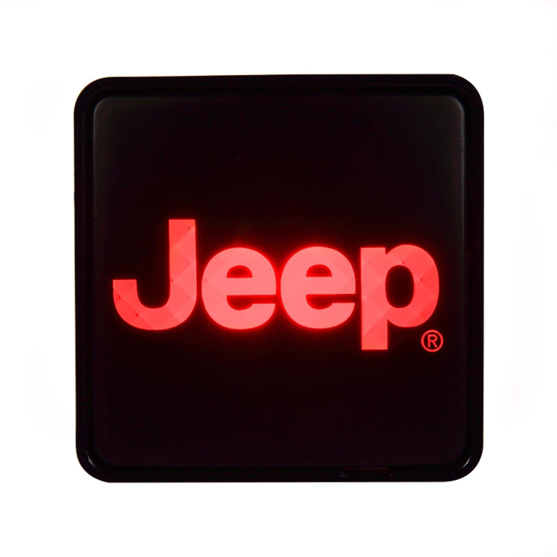 Amazon.com: Bully CR-007J Hitch Cover with Illuminated Jeep Logo ...