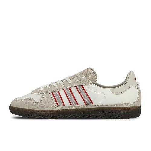 adidas Men Hulton SPZL Beige Clear Brown Clear Granite Scarlet Size 8.0 US 45d21b114b