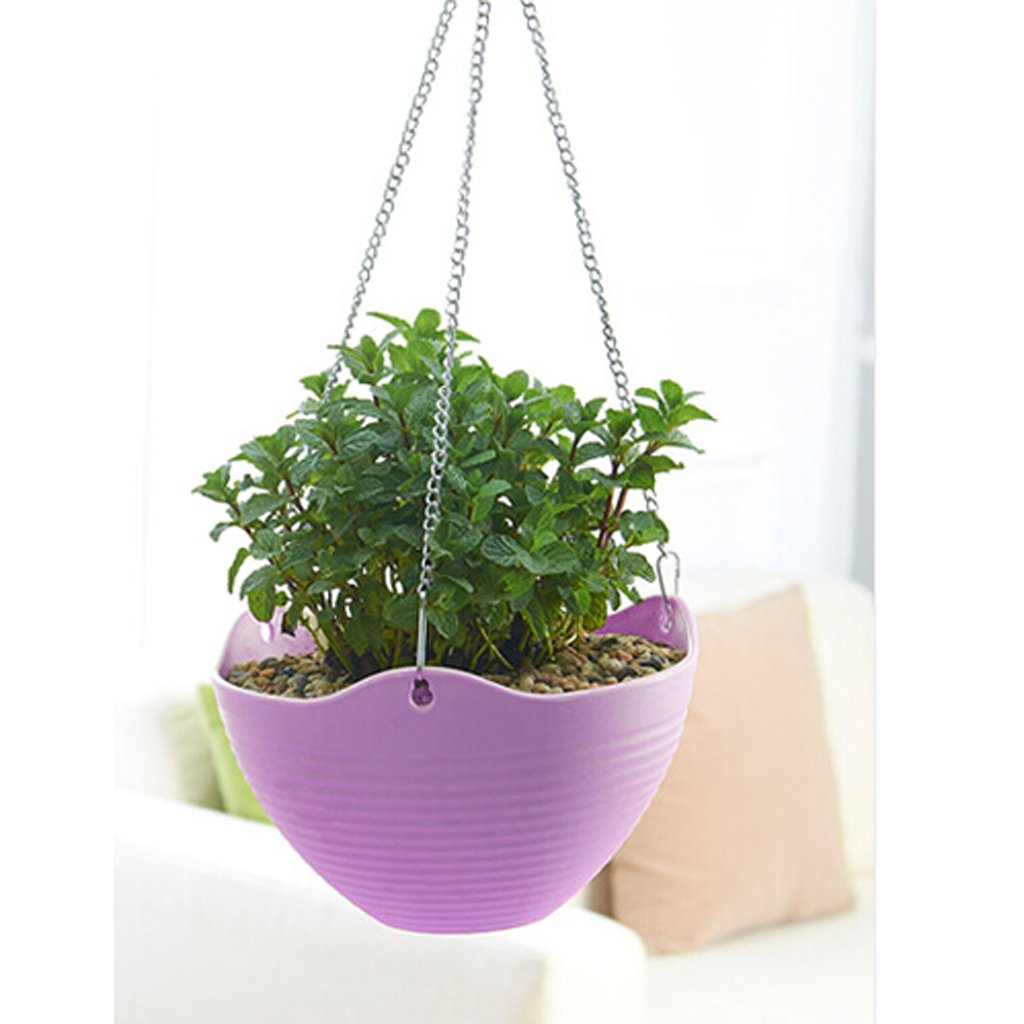 Wall Hanging Flower Plant Planter Pot Basket For Garden