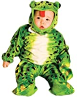 UHC Baby's Frog Plush Green Infant Toddler Outfit Child Halloween Costume