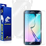 ArmorSuit MilitaryShield - Samsung Galaxy S6 Edge Screen Protector [Full Screen Coverage] + Full Body Skin Protector / Front + Back Anti-Bubble Ultra HD - Extreme Clarity & Touch Responsive Shield with Lifetime Replacement Warranty
