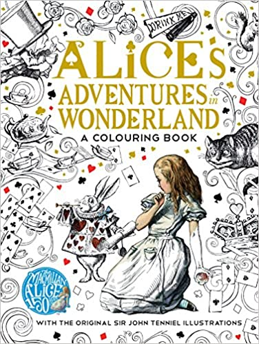 the macmillan alice colouring book macmillan classic colouring books amazoncouk lewis carroll 9781509813605 books - Colouring Books