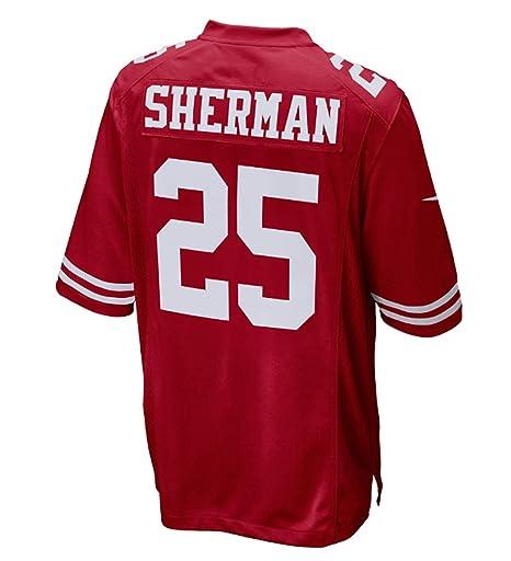 online store bee8e 7c449 Amazon.com : Nike Richard Sherman San Francisco 49ers Red ...