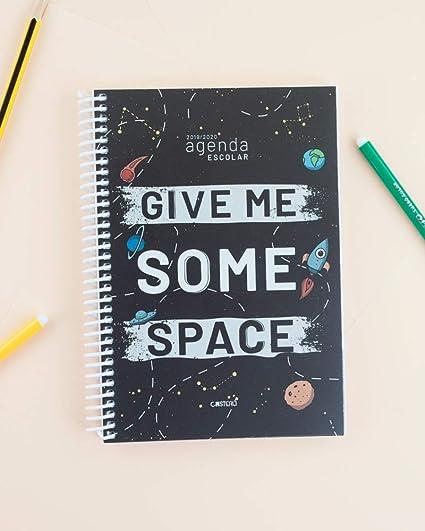 Casterli - Agenda Escolar 2019-2020 Have Fun - Día Página, Tamaño A5 (Space)