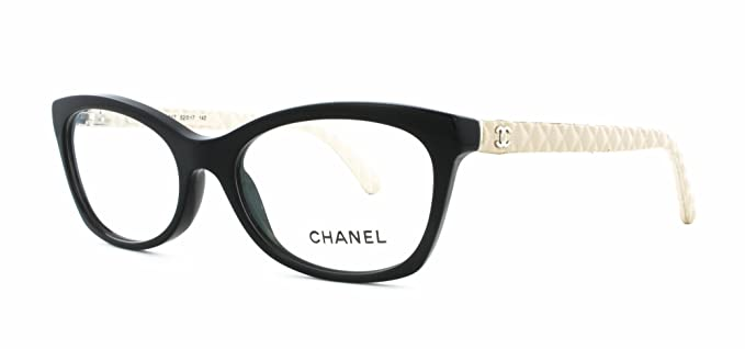 f6be6141b2 Chanel - Montura de gafas - para mujer Negro negro: Amazon.es: Ropa y  accesorios