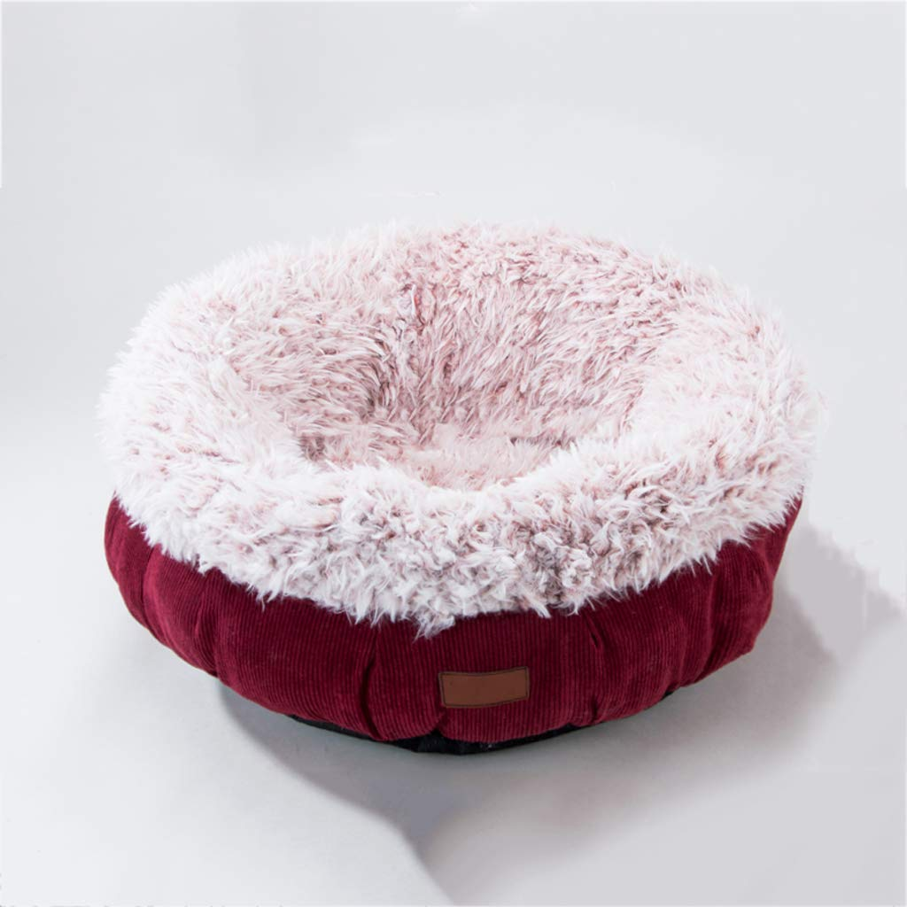 Red 254516cm Red 254516cm Pet dog, deep sleep cat dog PP cotton warm in winter, suitable for small and medium dogs