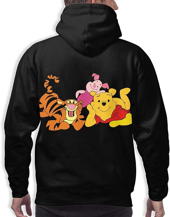 LADHRNZCMX Goofy Mens Fashion Pullover Hoodie Sweatshirts