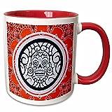 Danita Delimont - patterns - Arizona, Phoenix, Desert Botanical Garden. Bandana with skull design. - 11oz Two-Tone Red Mug (mug_229528_5) offers