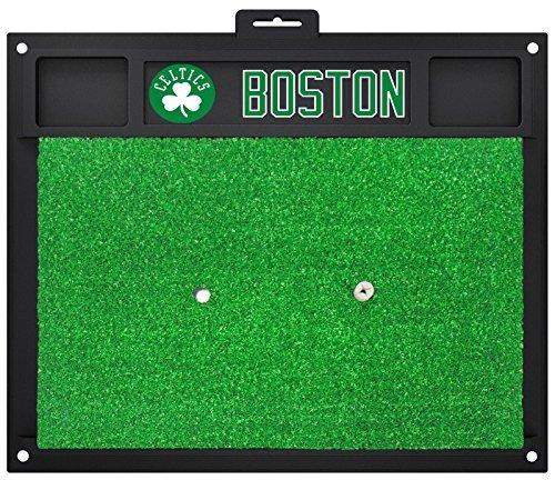 Fanmats NBA Boston Celtics Team Logo 20x17 Inch Golf Hitting Mat Heavy Duty by New Fanmats