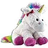The Petting Zoo Plush Rainbow Unicorn - 10 Inches