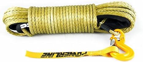 Kinetisches Seil Bruchlast 12,5 T 26 mm Off Road Kinetikseil Bergeseil PowerLine 5 m