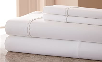 Lovely 1000 Thread Count Cotton Rich SOLID HIGHEST QUALITY WRINKLE FREE, STAIN FREE  U0026 FADE RESISTANT