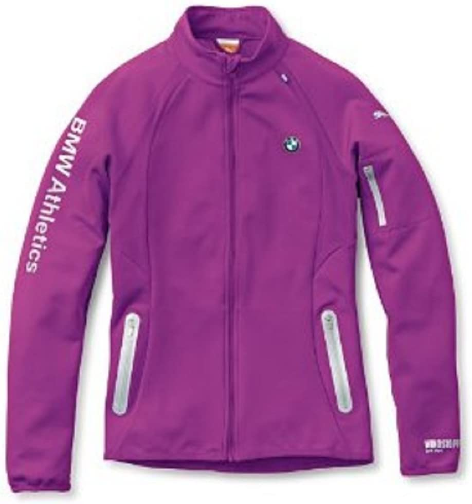 PUMA Poly Fleece Tec Lightweight  Jacket Coat Purple Size L