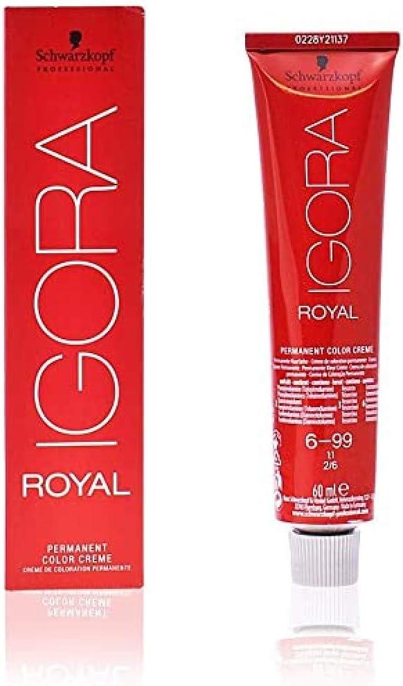 Schwarzkopf Professional Igora Royal Permanent Color Creme 6-99 Tinte - 60 ml