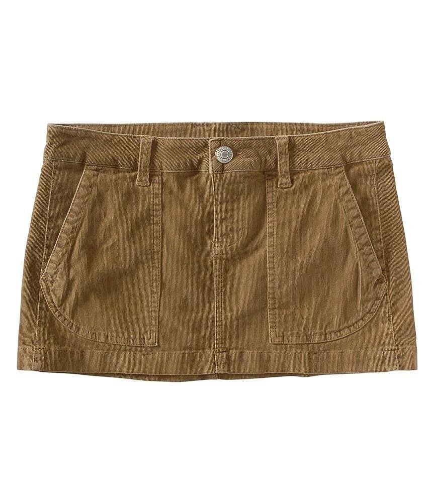 Aeropostale Womens Solid Corduroy Skirt 2173