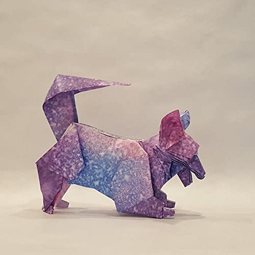 Amazon Handmade Tricolor Small Or Medium Origami Dog Happy And
