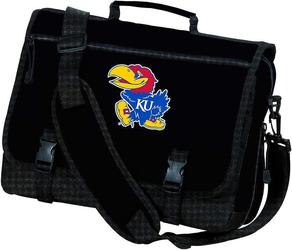 University of Kansas Laptop Bag Kansas Jayhawks Computer Bag or Messenger Bag