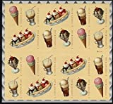 Soda Fountain Favorites 2016 Pane of 20 Forever Stamps By USPS