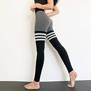 Women Seamless Yoga Fitness Leggings Running Gym Sports High Waist Pants Trouser