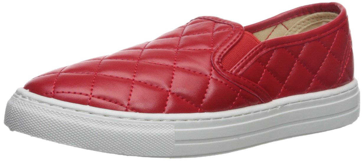 Qupid Women's Reba-17c Walking Shoe B074P8C1H8 9 B(M) US|Red