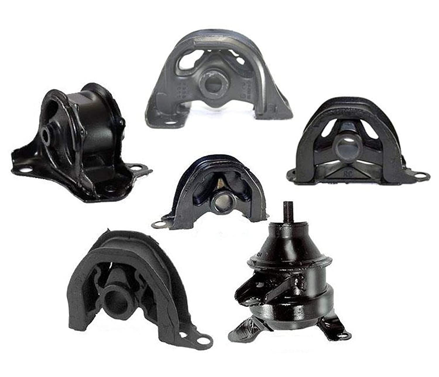 for 97-01 CR-V Engine and Automatic Transmission Differential Motor Mount 6p Kit