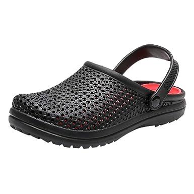5de32a1c2214d Amazon.com: Dainzuy Men's Sandal Hole Shoes Summer Fashion ...
