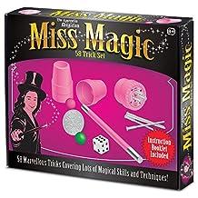 Miss Magic Girly Fun Girl's Pink Magician Toy Set