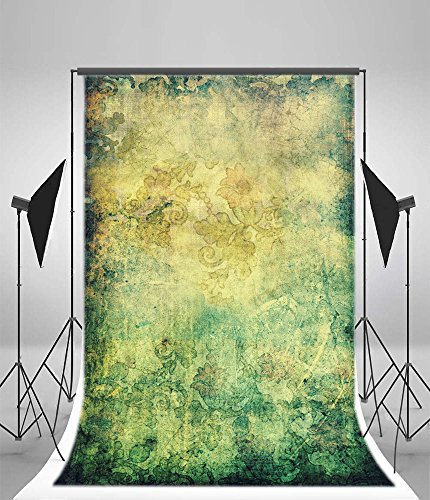 Riley 5x7ft Happy Halloween Grunge Graffiti Wall Backdrops Vintage American Cowboy Music Band Western Party Gloomy Dirty Town House Photography Background Rustic Wallpaper Photo Studio Vinyl Props]()