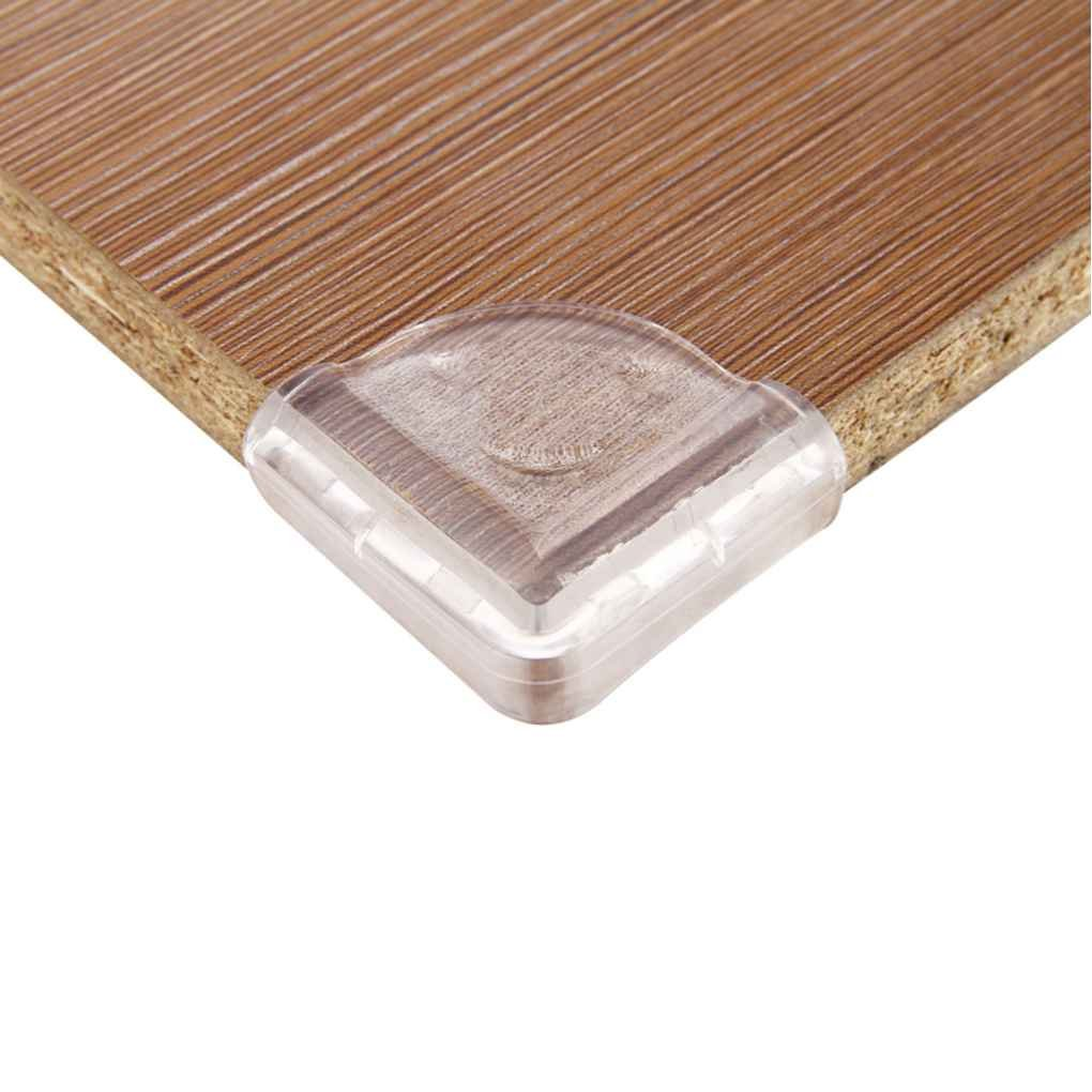 QHGstore Baby Sicherheit Corner Kantenschutz Clear Table Protector Kinder Tabelle Ecken Guard PVC Kind Antikollisionskante L-Form 2cm